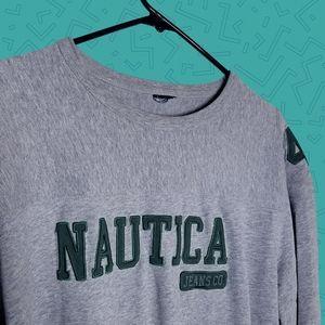 Vintage Nautica crewneck sweatshirt